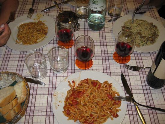 Trattoria Diva e Maceo: Plate of pici!!