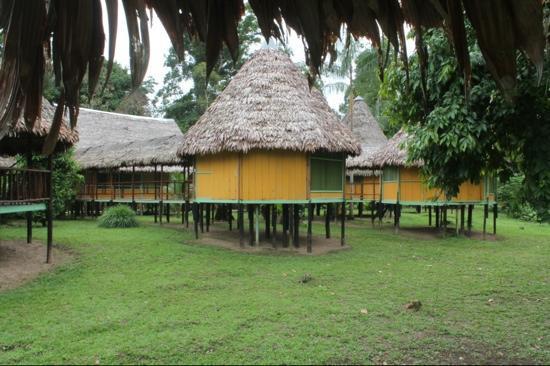 Cumaceba Lodge : Lodge with the seperate bungalows.