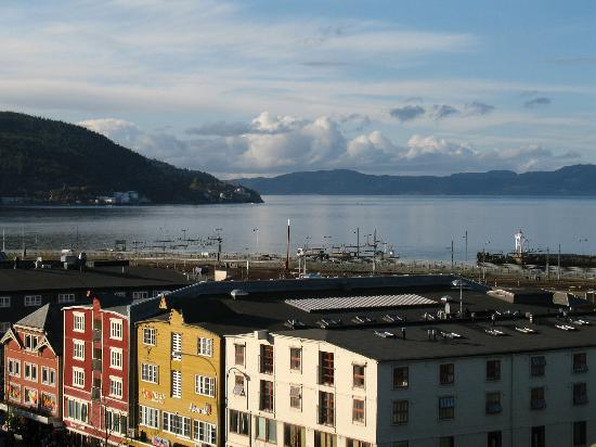 Best Western Chesterfield Hotel : View from our top floor window at the Chesterfield, Trondheim.