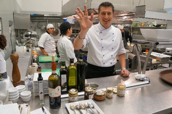 Sagrantino: Chef Massimo Fongaro
