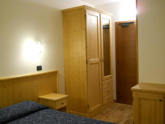Hotel Bleis : A single room