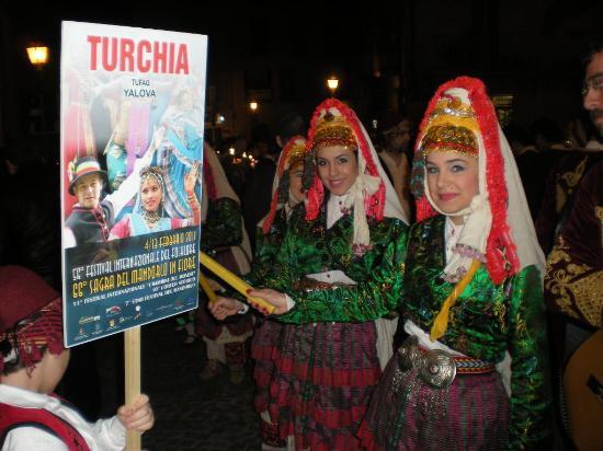 Sagra del Mandorlo in Fiore : turchia