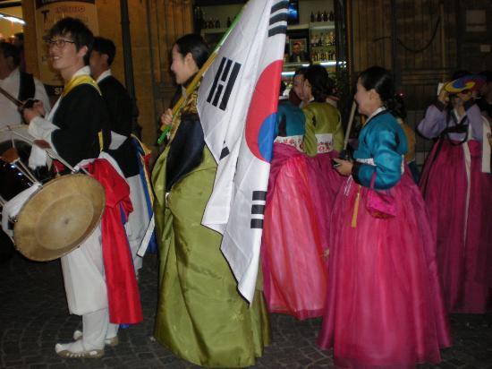 Sagra del Mandorlo in Fiore: corea