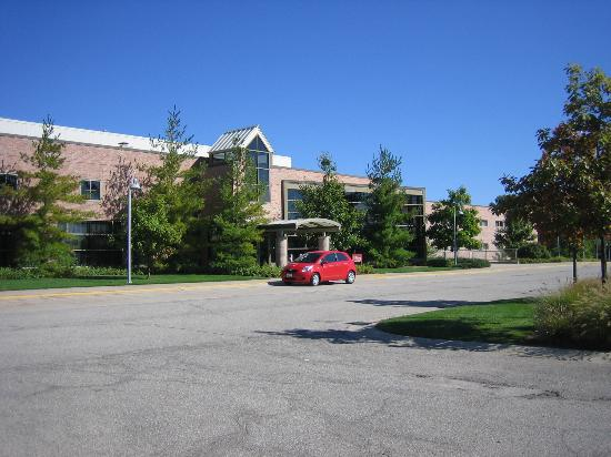 Prince Conference Center at Calvin College: The Confernece Center's front door