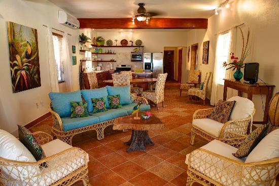 Caye Casa: villa