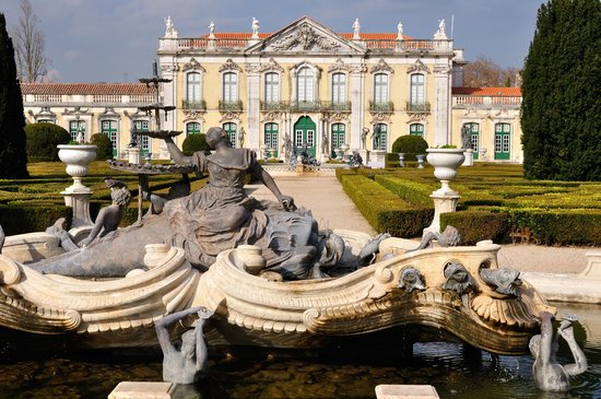 Queluz, Portugal: Palace and garden