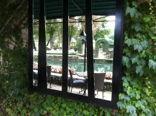 Manoir d'Hautegente : Mirror on Terrasse