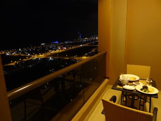 Gloria Hotel: Abendessen mit Ausblick :-)