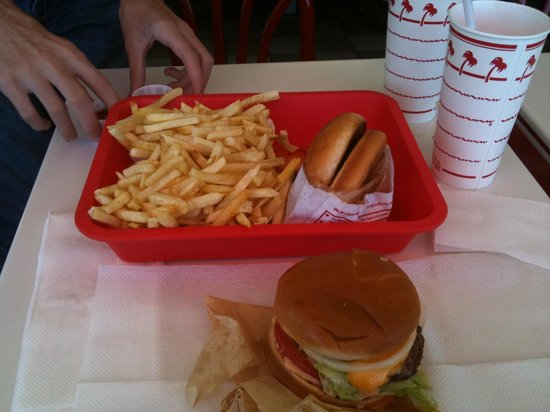 In and Out Burger: Here it is
