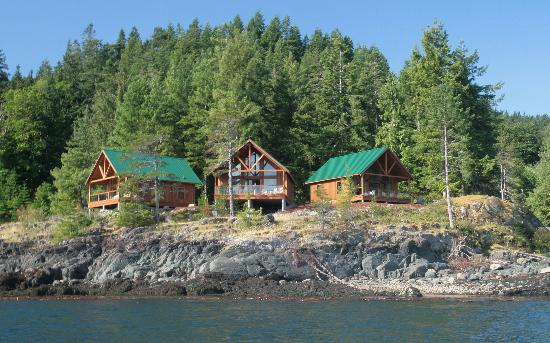 Brown's Bay Resort: New rental cabins