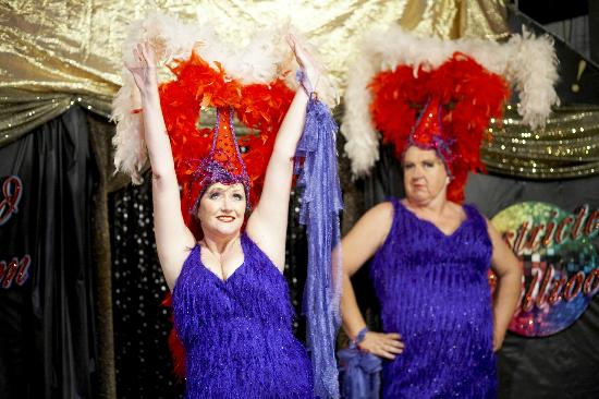 Stage Door: Just a couple showgirls!