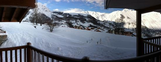 Residence Les Chalets du Gypse : View from Apartment  A4