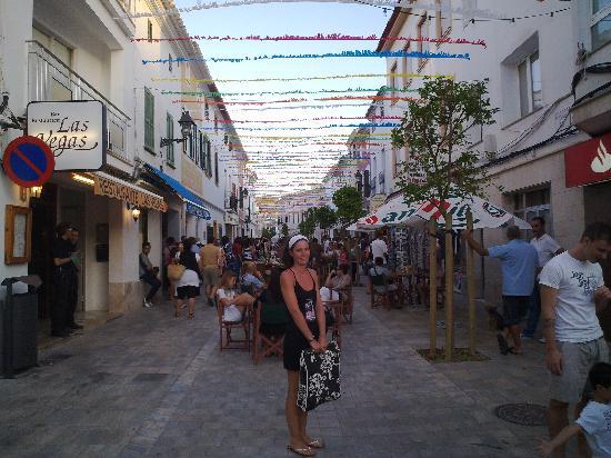 Menorca, Španielsko: Mercadal en fiesta