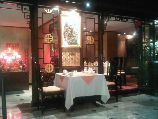 هانسا جيه بي هوتل: Restaurant Chinois de l'hôtel