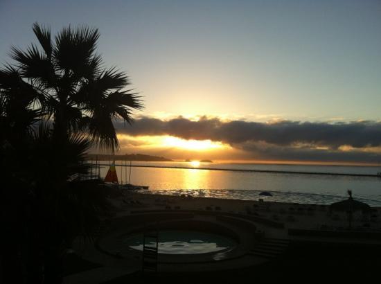 San Alfonso del Mar: sunset