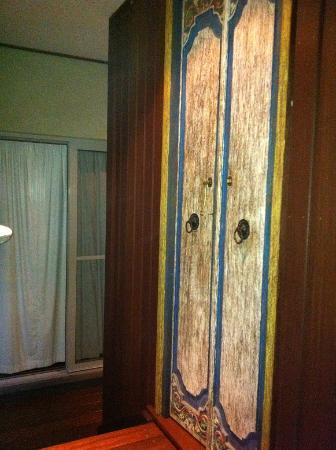The Villas of Byron: toilet doors