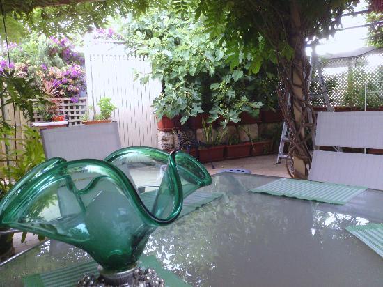 Astoria Retreat Bed and Breakfast : il rilassante giardino