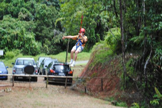 Kila Eco Adventure Park: Giant Swing