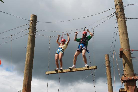 Kila Eco Adventure Park: High Ropes..