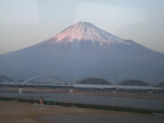 Mount Fuji : Fuji view from the shinkansen
