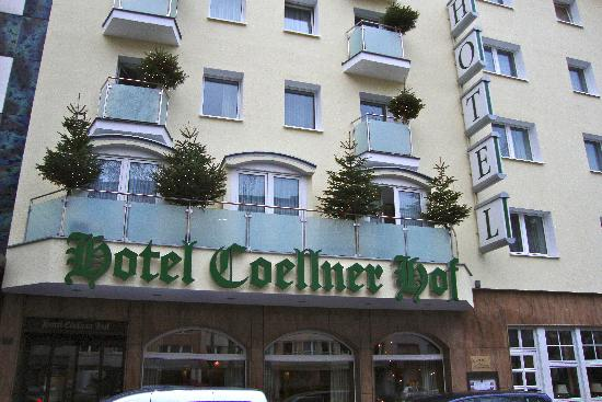 front of Hotel Coellner Hof