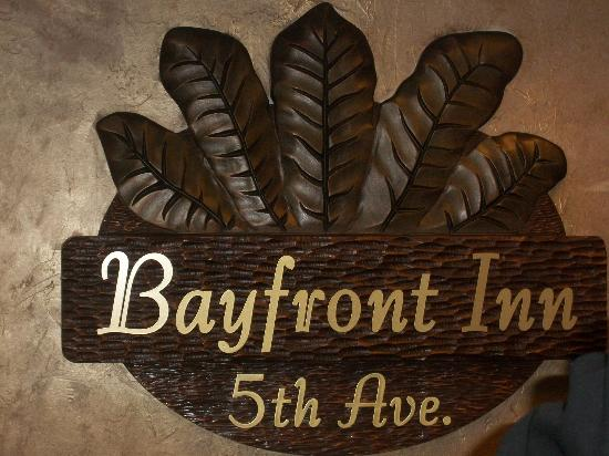 Bayfront Inn 5th Ave: Lovely decor