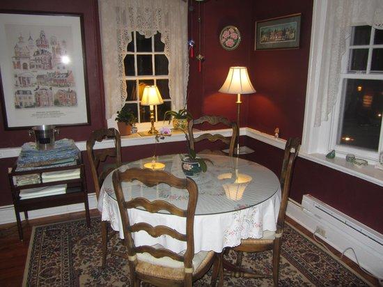 Hargrave House: Breakfast Room