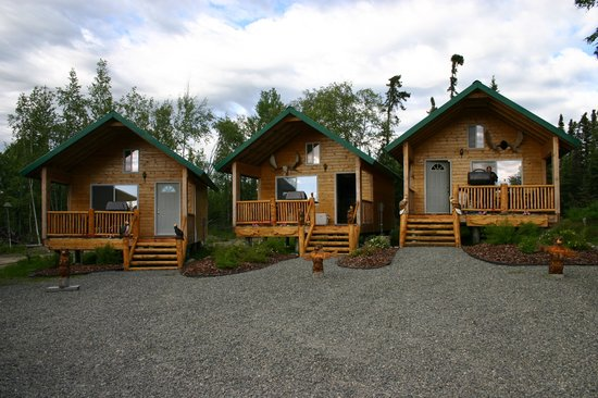 Alaska Fishing & Lodging: Our Cabins