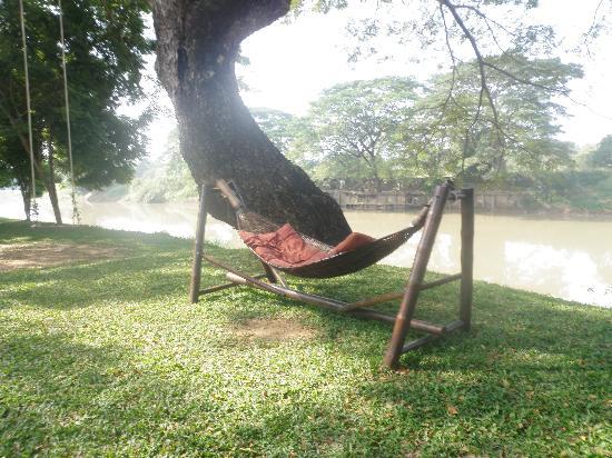 Baan Nam Ping Riverside Village : Perfect chilling spot!