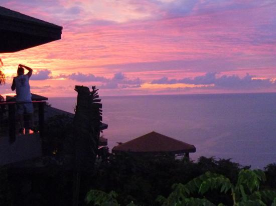 Buena Vista Luxury Villas: Sunset