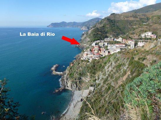 La Baia di Rio : presentazione di Riomaggiore