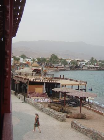 Club Red Dahab: a view frm sea view room balcony