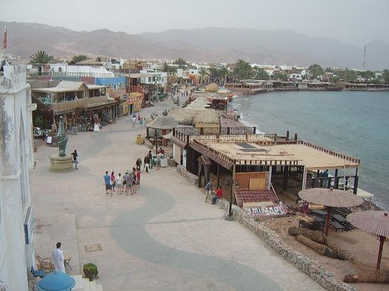 Club Red Dahab: another view frm balcony