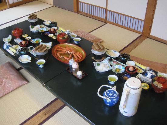 Iwamotoya: 朝食です