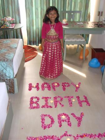 Birthday decoration in our Room Picture of Leonia Holistic