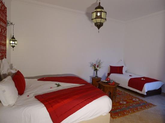Riad Badi : suite safran 1