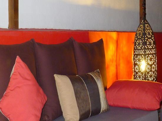 Riad Badi : salon terrasse 2