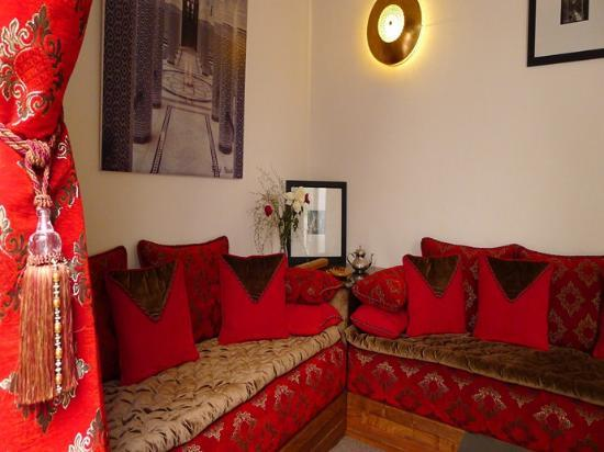 Riad Badi : salon