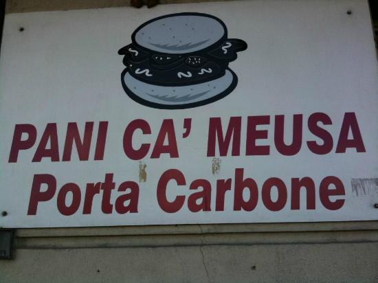 Pani Ca' Meusa Porta Carbone: Porta Carbone