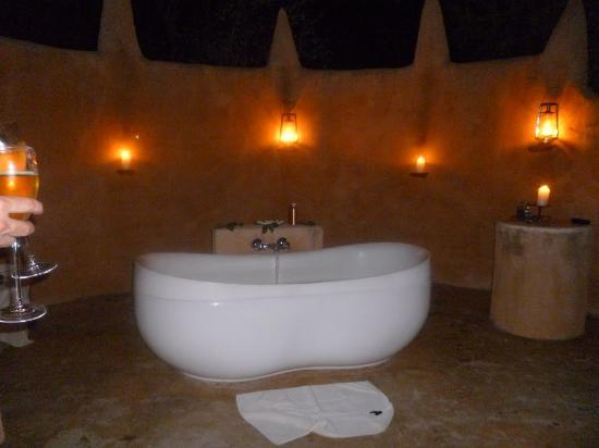 Garonga Safari Camp: Bath in the bush!