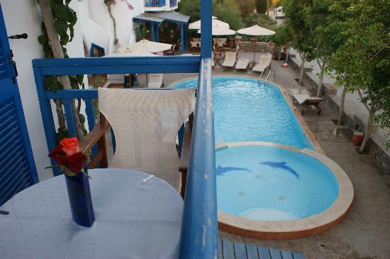 Dimitra Hotel: balcony view