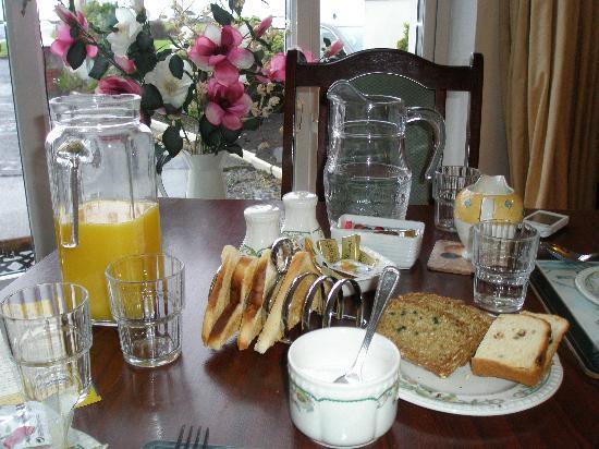 Grattan Lodge : Nice continental breakfast