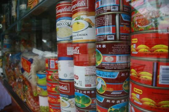 Khun Ying: Canned foods