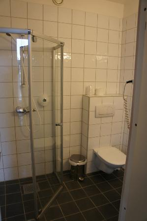Bergen Travel Hotel: Shower