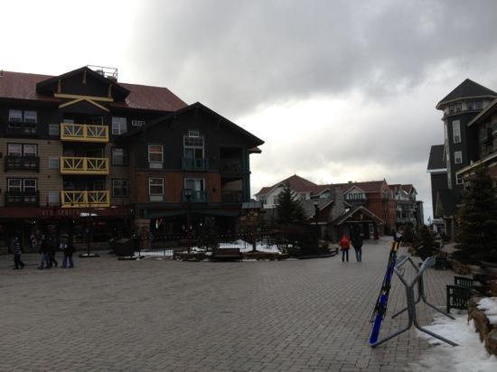 Top of the World Condos at Snowshoe: Snowshoe Village.
