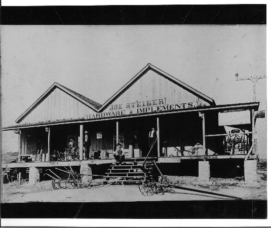 Brazos Belle Restaurant: Built in the 1800, this was part of the original Burton, Texas Main Street. The very same struct