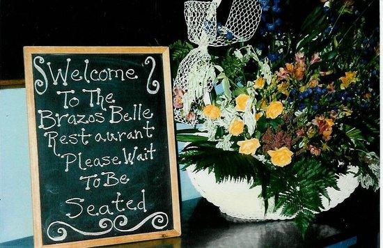 Brazos Belle Restaurant: Bienvenue - Welcome to the Brazos Belle!
