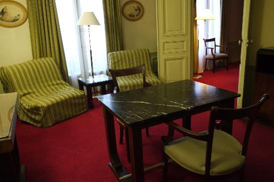 Hotel Langlois: リビング