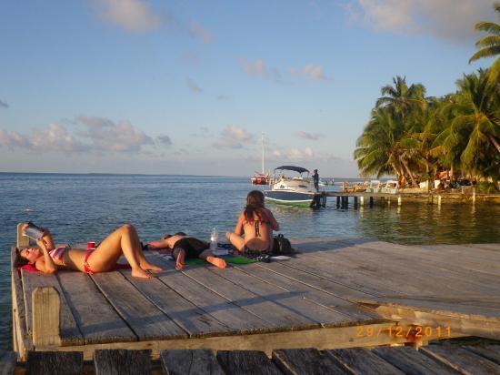 Lana's on the Reef: Sur un quai a Lana