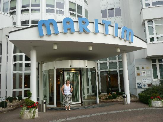 Maritim Hotel Bad Wildungen: Eingang zum Maritim